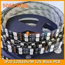 5050 RGB IP20 LED Strip Lighting 12V 120LEDs/M