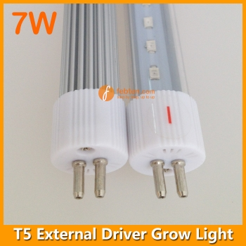 7W LED Plant Light T5 G5 2foot with External Driver