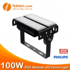 100W LED Module Flood Light with MeanWell Driver